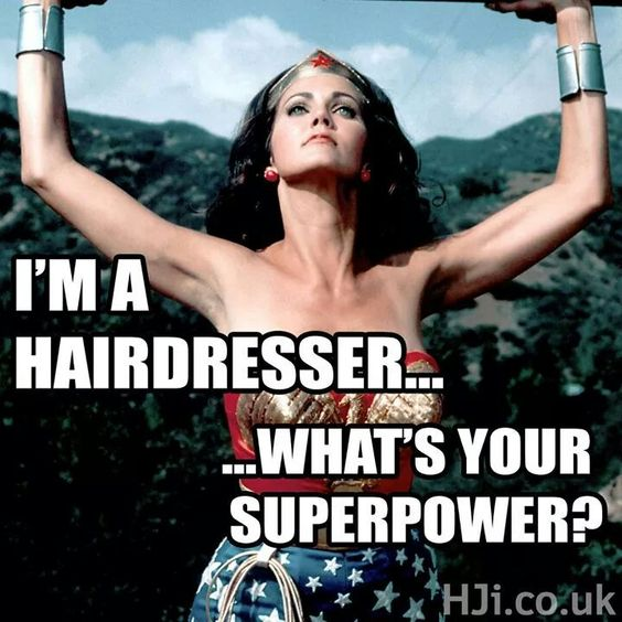 Image result for hairdresser meme