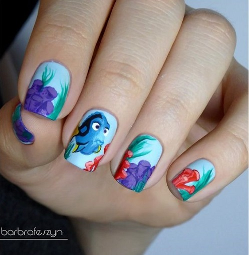 Disney Nails For Your Inner Child Adel Professional Blog