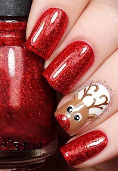 Christmas Nails Gel.Christmas Nail Designs Create The Looks Adel