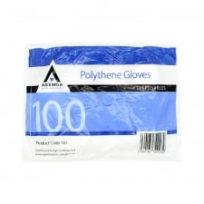 Agenda Polythene Disposable Gloves (100)