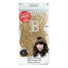 Pre-Bonded Fill-In Human Hair Extensions 25cm (50pcs)