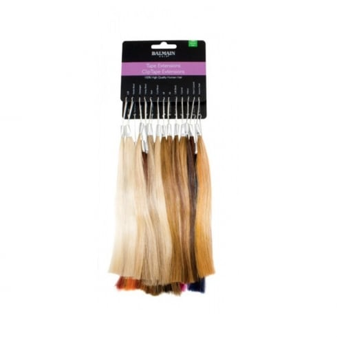 Balmain Hair Tape Extensions Colour Ring