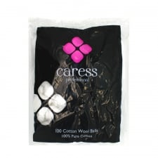 Caress Cotton Wool Balls (100)