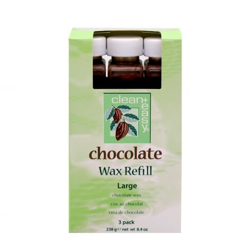 Clean & Easy Chocolate Wax 3 Pack (Large)