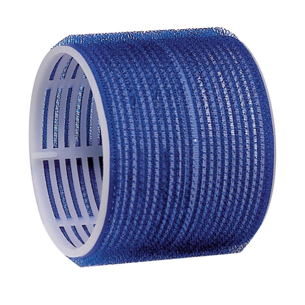 Dark Blue Jumbo Velcro Rollers 78mm (6)