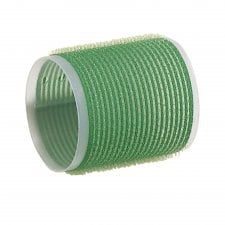 Green Jumbo Velcro Rollers 61mm (6)