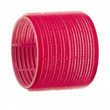 Red Jumbo Velcro Rollers 70mm (6)