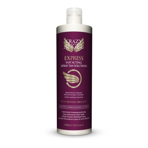 Crazy Angel Express Fast Acting Salon Spray Tan