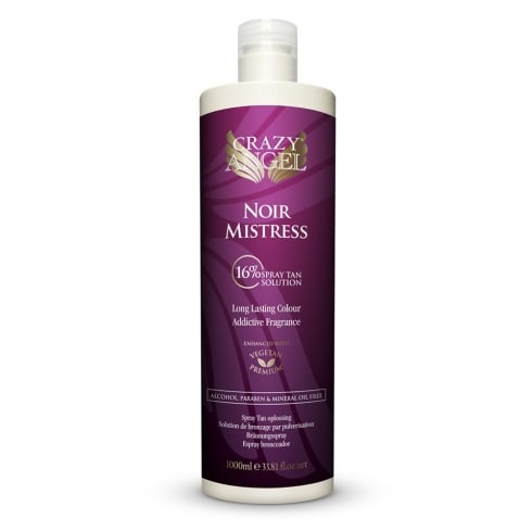 Crazy Angel Noir Mistress 16% Spray Tan Solution