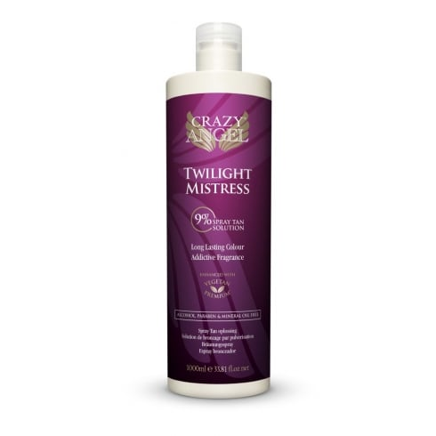 Crazy Angel Twilight Mistress 9% Spray Tan Solution