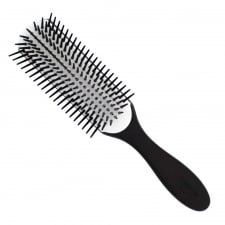 Denman D3 'Noir' Black Hairbrush