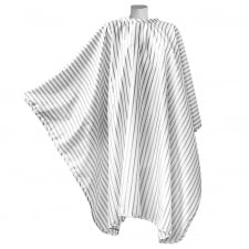 White Vintage Barber Cape