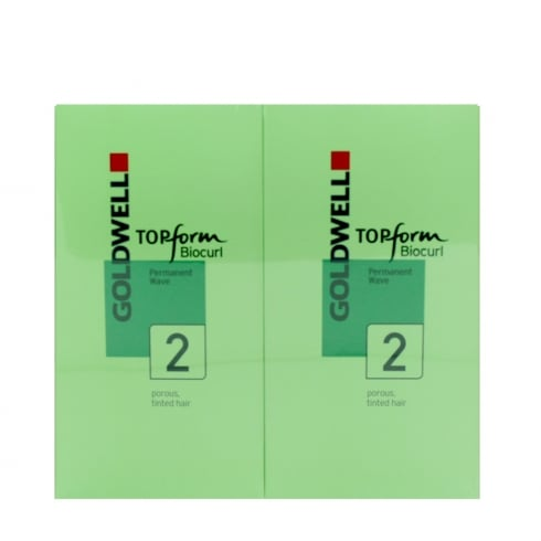 Goldwell Biocurl Top Form Herbal Perm No. 2 (Coloured Hair)