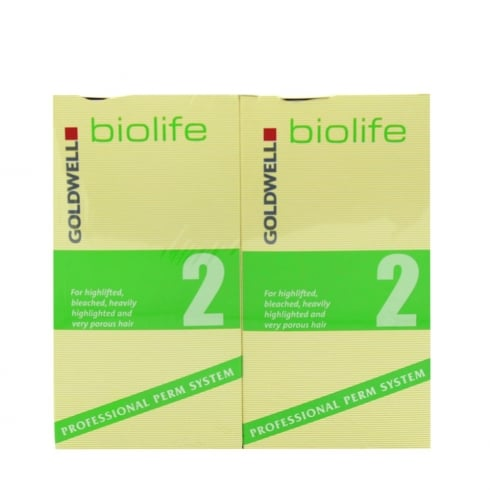 Goldwell Biolife Perm Kit No. 2 (Bleached Hair)