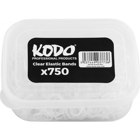 Kodo Clear Elastic Bands (750pc)