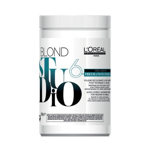 L'Oréal Professionnel Blond Studio Freehand Techniques Powder 350g
