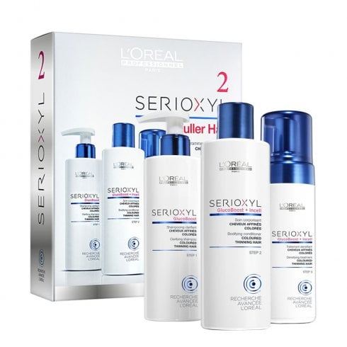 L'Oréal Professionnel Serioxyl Kit 2 (Coloured, Thinning Hair)