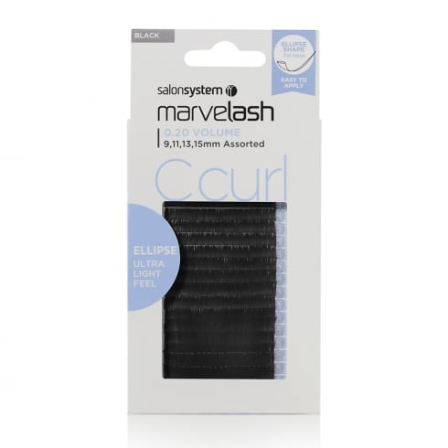 Marvelash C Curl Ellipse Individual Lashes (0.20 assorted)