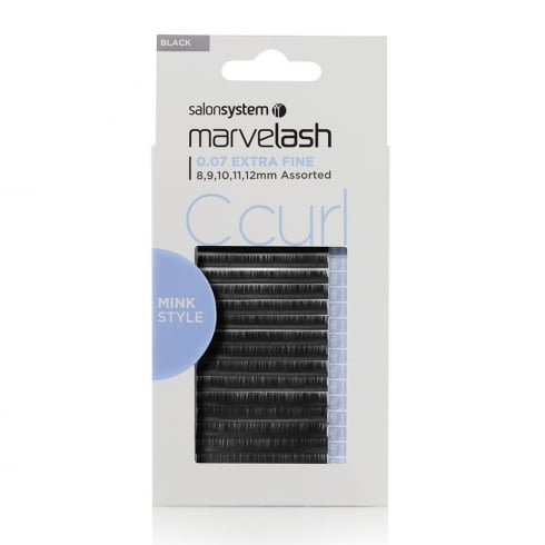 C Curl Mink Style Individual Lashes (0.07 assorted)