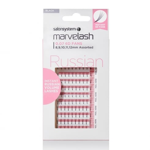 Marvelash Russian 6D Instant Volume Individual Lashes (0.07 assorted)