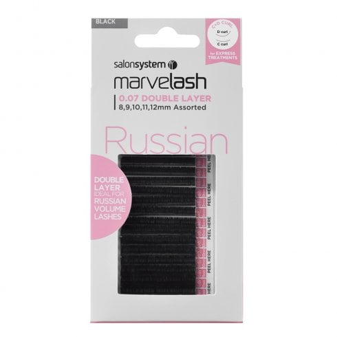 Marvelash Russian Double Layer Lashes (0.07 Assorted)