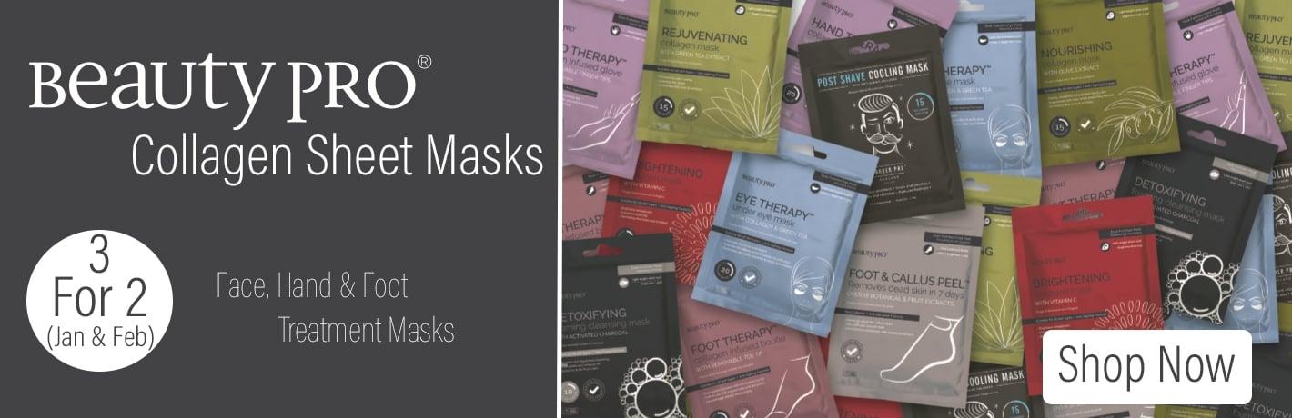 BeautyPro Sheet Masks