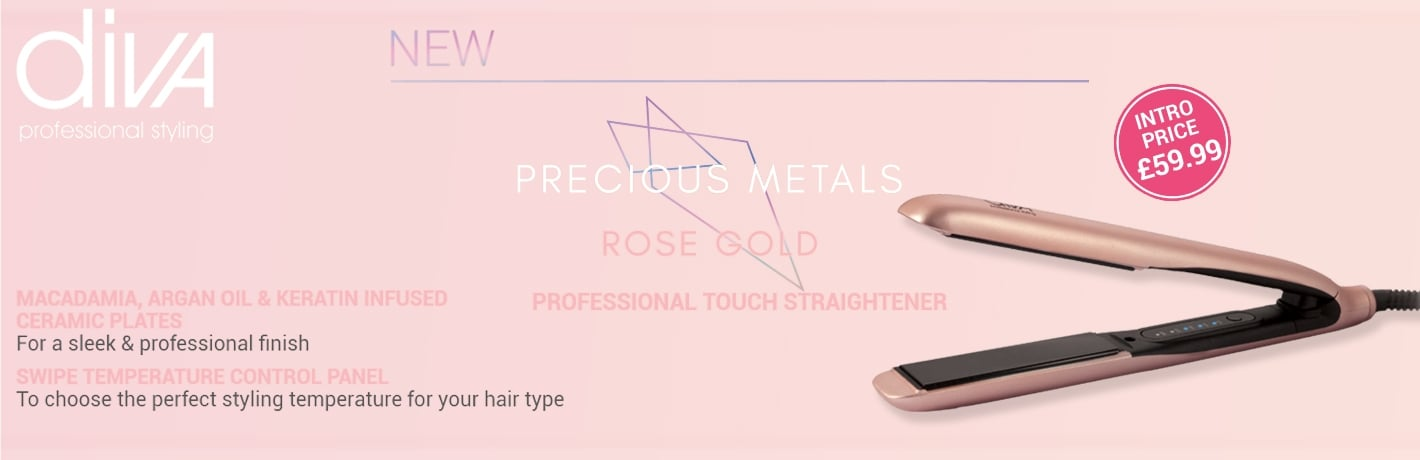 Diva Professional Touch Rose Gold