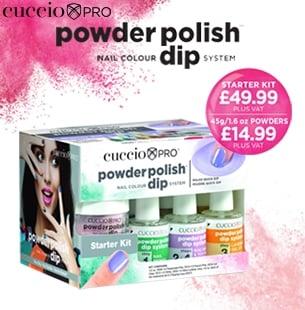 Featured Product: Cuccio Powder Polish Kit