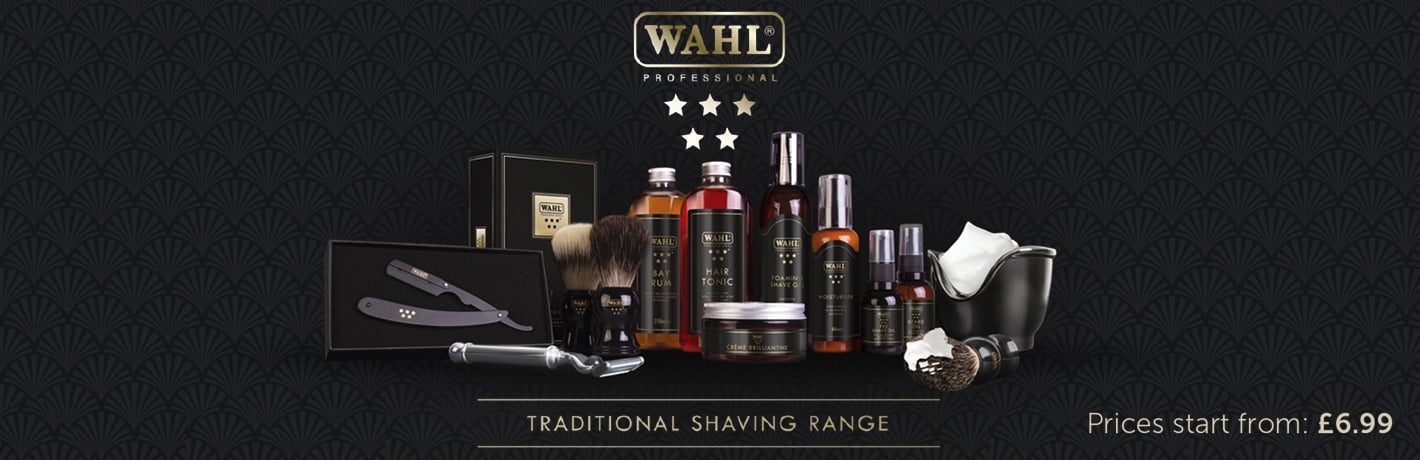Wahl 5 Star Shaving Range