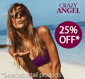 Crazy Angel 25% Off