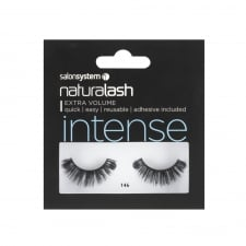 Black Intense False Strip Lashes