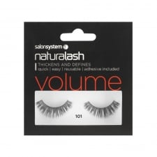 Black Volume False Strip Lashes