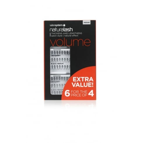 Naturalash Extra Value Individual Lashes (6 for 4)