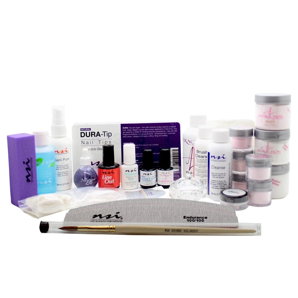 NSI Attraction Professional Acrylic Nails Kit   Adel Professional