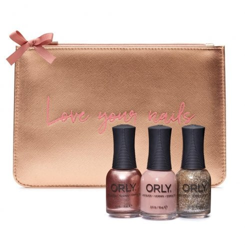 Orly Rose Gold Clutch