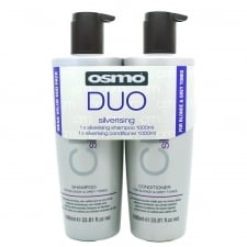 Silverising Shampoo and Conditioner 1 Ltr Twin Pack