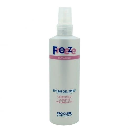 proclere freeze gel spray adel professional
