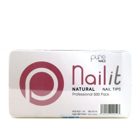 Pure Nails Pure Natural Nail Tips (Assorted)