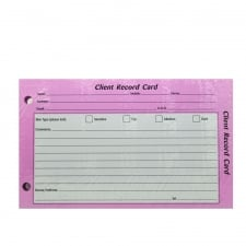 Customer Record Cards (100)