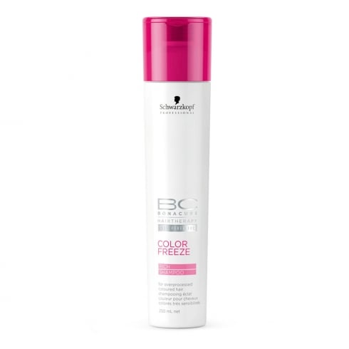 Schwarzkopf Professional BC Bonacure Color Freeze Rich Shine Shampoo 250ml
