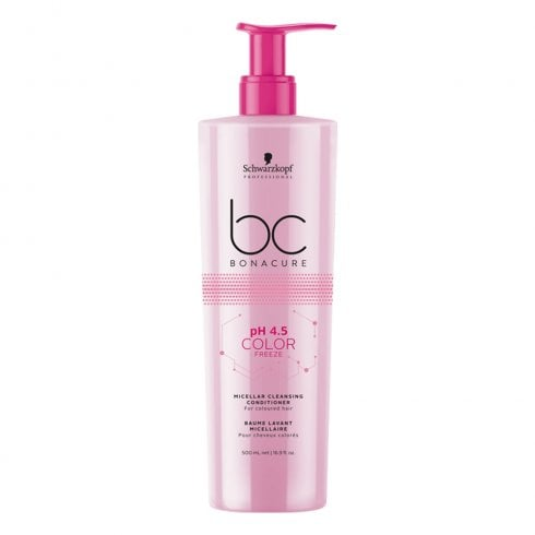 Schwarzkopf Professional BC Bonacure pH 4.5 Color Freeze Micellar Cleansing Conditioner 500ml