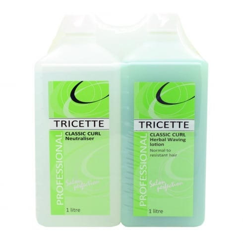 Tricette Classic Curl Herbal Twin