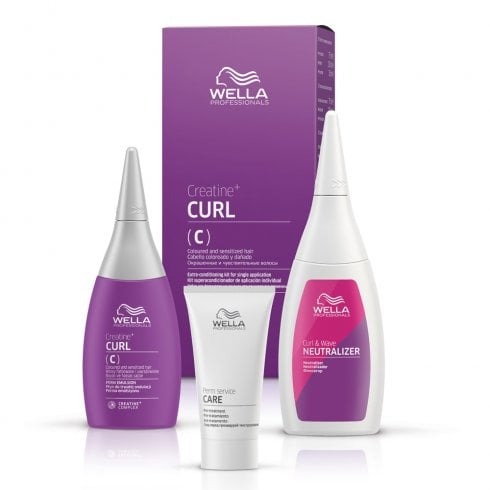 Wella Professionals Creatine+ Curl Kit (C) 75ml (3 Pack)